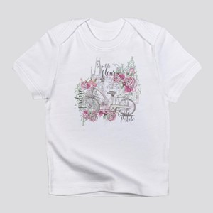 Shabby Chic Bicycle Peony T-Shirt