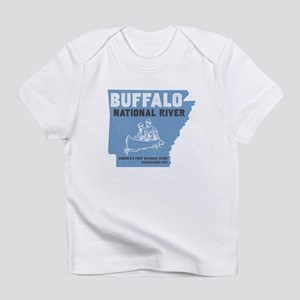Buffalo River Arkansas Canoeing T-Shirt