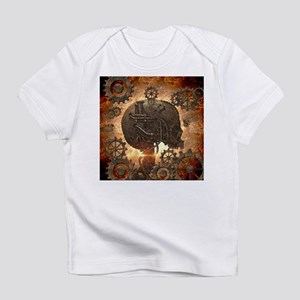 Awesome steampunk Skull with gears Infant T-Shirt