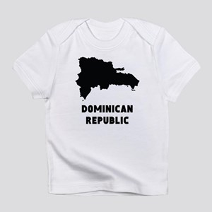 Dominican Republic Silhouette Infant T-Shirt
