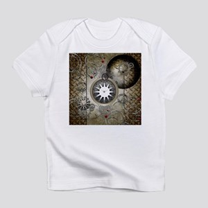 Steampunk, clocks and gears Infant T-Shirt