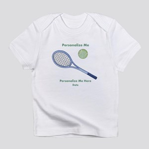 Personalized Tennis Infant T-Shirt