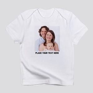 Photo Text Personalized Infant T-Shirt