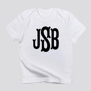 Monogram Initials Personalized Infant T-Shirt