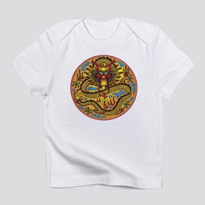 Asian Dragon Motif Infant T-Shirt