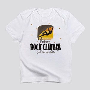Future Rock Climber like Daddy Infant T-Shirt