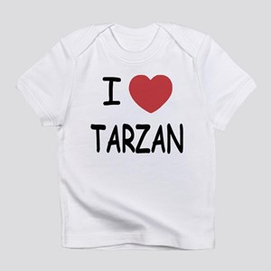 I heart Tarzan Infant T-Shirt