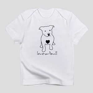 Love-a-Bull Pit Bull Infant T-Shirt