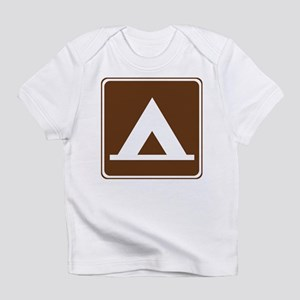 Camping Tent Sign Infant T-Shirt