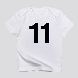 Number 11 Helvetica Infant T-Shirt