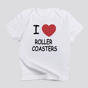 I heart roller coasters Infant T-Shirt