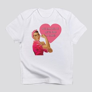 Rosie the Riveter Breast Cancer Infant T-Shirt