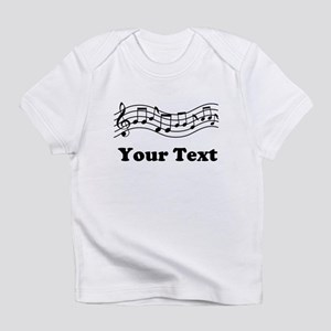 Music Staff Personalized Infant T-Shirt