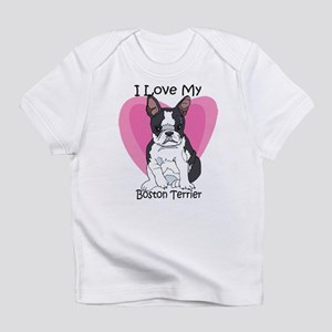 I Luv My Boston Terrier-2 Creeper Infant T-Shirt