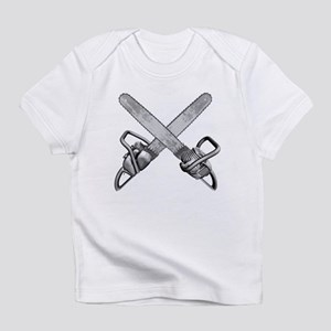 Crossed Chainsaws Infant T-Shirt