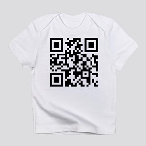 Stop Looking At This Shirt QR Infant T-Shirt