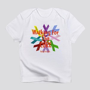 Walking for the CURE copy Infant T-Shirt