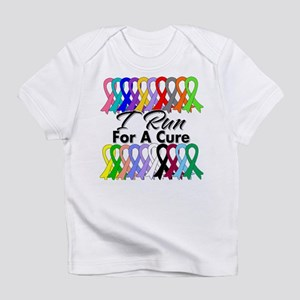 Cancer I Run For A Cure Infant T-Shirt