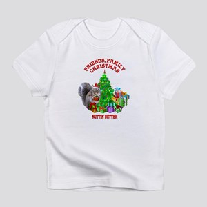 Christmas Squirrel Infant T-Shirt