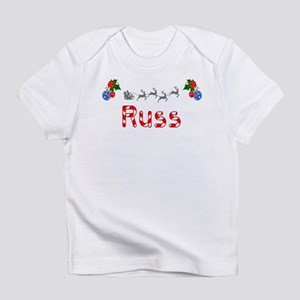 Russ, Christmas Infant T-Shirt