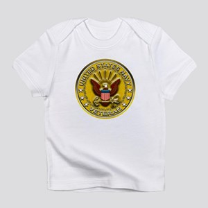US Navy Veteran Gold Chained Infant T-Shirt