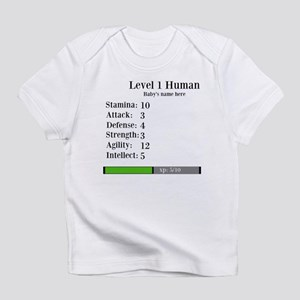 Level 1 Human [Personalize] Infant T-Shirt
