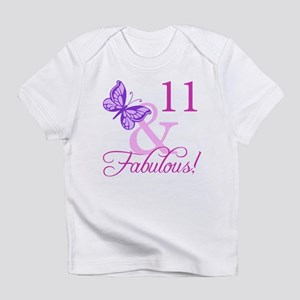 Fabulous 11th Birthday For Girls Infant T-Shirt