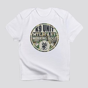 K9 Unit Military Working Dogs Infant T-Shirt