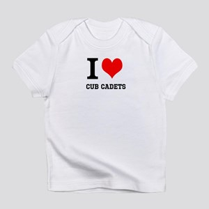I Heart Cub Cadets Infant T-Shirt