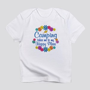 Camping Happy Place Infant T-Shirt