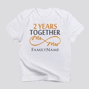Gift For 2nd Wedding Anniversary Infant T-Shirt