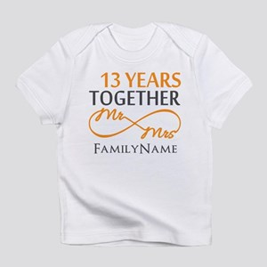 13th anniversary wedding Infant T-Shirt
