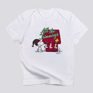Snoopy: All the Trimmings Infant T-Shirt