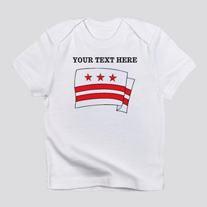 Custom Washington DC Flag Infant T-Shirt