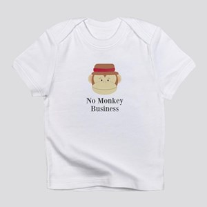 No Monkey Business Infant T-Shirt