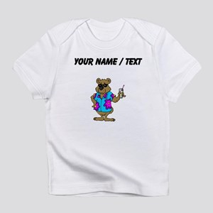 Custom Bear On Vacation Infant T-Shirt