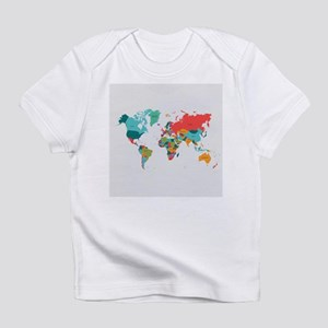 World Map With the Name of The Countries Infant T-