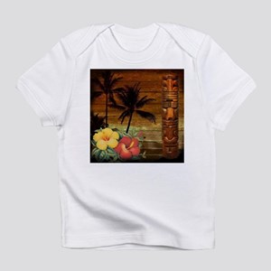 totem Hawaiian Hibiscus Flower Infant T-Shirt