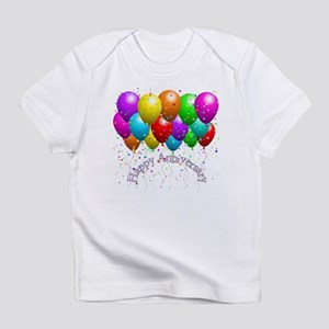 Happy Anniversary Balloons Infant T-Shirt