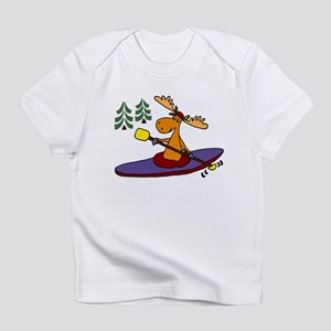 Kayaking Moose Infant T-Shirt