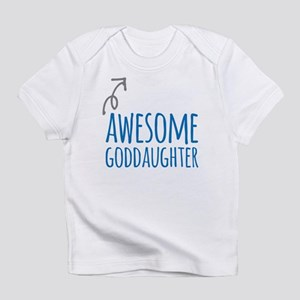 Awesome Goddaughter Infant T-Shirt