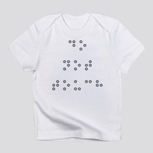 Do Not Touch in Braille (Grey) Infant T-Shirt
