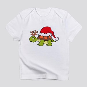 Turtle Christmas Infant T-Shirt