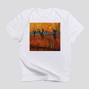 Van Gogh Willows at Sunset Infant T-Shirt