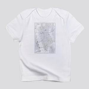 Vintage Map of New York City (1911) Infant T-Shirt
