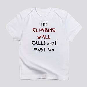 climbing wall calls Infant T-Shirt