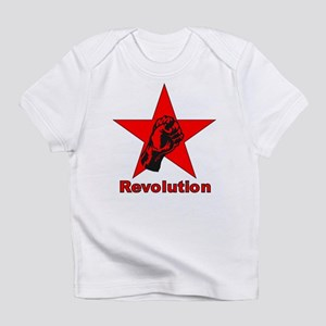 Commie Revolution Star Fist Creeper Infant T-Shirt