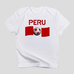 f7a9982f902 Peru Soccer Baby T-Shirts - CafePress