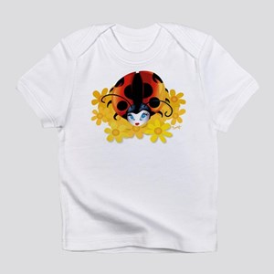 Pretty Ladybug Creeper Infant T-Shirt