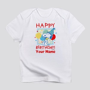 Peanuts Happy Birthday Red Personal Infant T-Shirt